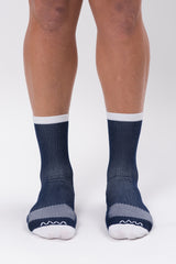 men's navy cycling socks