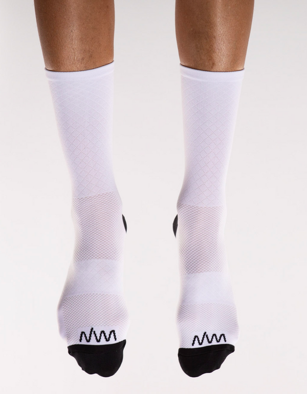 flagship sock - white