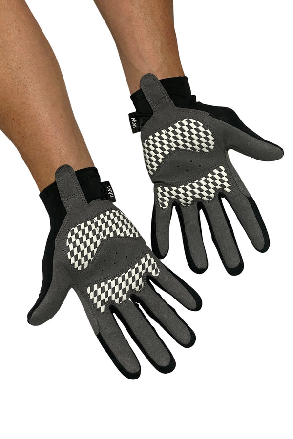 essentials light thermal gloves- black