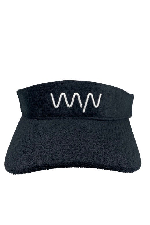 WYN Terry visor - black (restock coming)