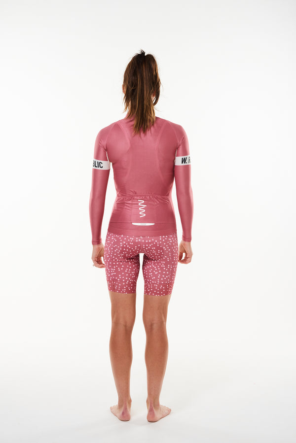 keep the peace summer long sleeve cycling jersey - joni