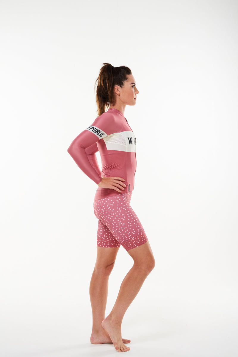 signature summer long sleeve cycling jersey - joni