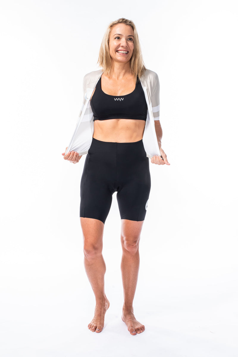 women's mojave velocity+ triathlon suit - sand