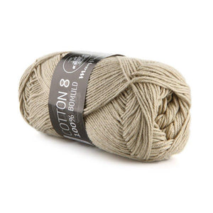 Garn - Beige 1438 - Mayflower - Cotton 8/4 - 100% Bomuld