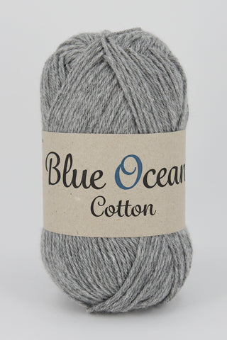Grå 03 - Blue Ocean Cotton