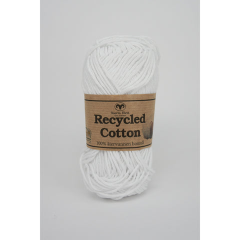 Hvid 04 - Recycled cotton