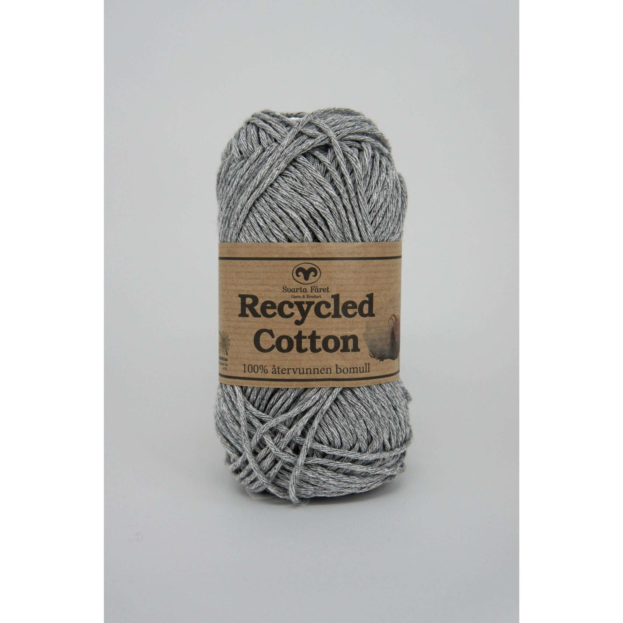 Lysegrå 03 - Recycled cotton