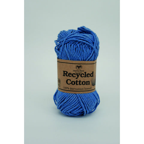 Mellemblå 65 - Recycled cotton