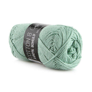 Garn - Mintgrøn 1492 - Mayflower - Cotton 8/4 - 100% Bomuld