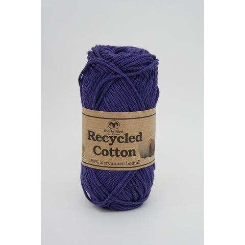 Mørkelilla 64 - Recycled cotton