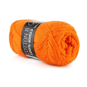 Garn - Orange 1406 - Mayflower - Cotton 8/4 - 100% Bomuld
