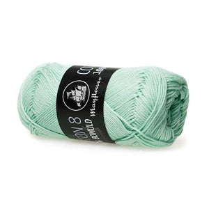 Garn - Pastelgrøn 1453 - Mayflower - Cotton 8/4 - 100% Bomuld