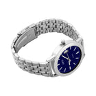 Risk Taker - Men's Stainless Steel Blue & Silver coloured Watch 316L