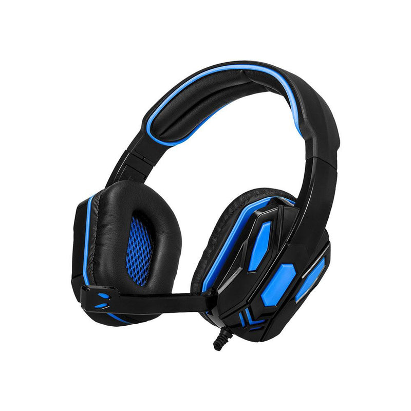 Argom Gaming Headset Combat USB - Black/Blue - Best Electronics N1