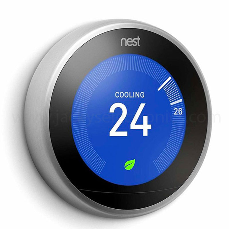 Nest T3016US Learning Thermostat 3rd Generation - Silver Open Box