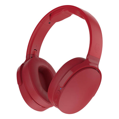 Skullcandy Hesh 3 Wireless Bluetooth Over-Ear Headphones (Red) - Brand New
