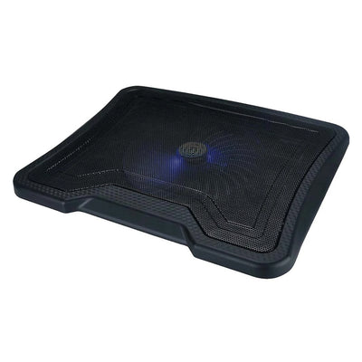 Argom Notebook Stand Blue Light Cooling Pad 1 Large Fan and 2-Ports USB 2.0