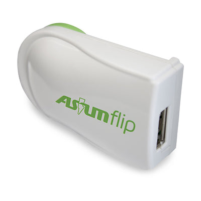Asium Flip Rotating USB Charger