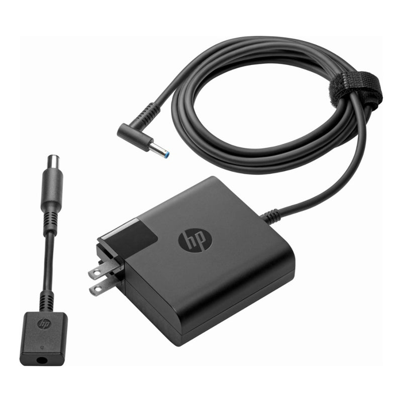 HP 65W Laptop Travel Adapter For Notebooks-Laptops New Open Box - Best Electronics N1