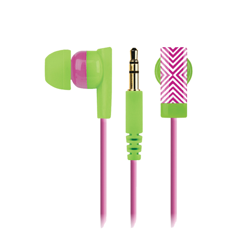 Macbeth Collection MB EB1EP Macbeth Earphones Edie Hot Pink - Best Electronics N1