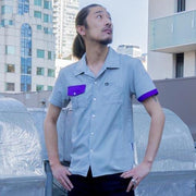 Button Up Short Sleeve - Mens