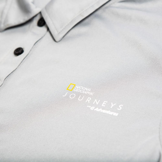 National Geographic Journeys Performance Polo Shirt - Mens