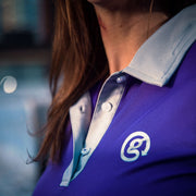 Performance Polo Shirt - Purple - Womens
