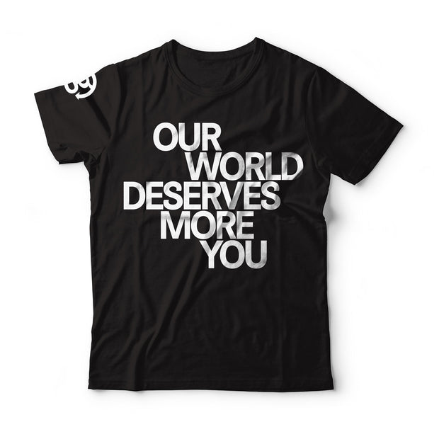Our World Quote T-shirt - Mens