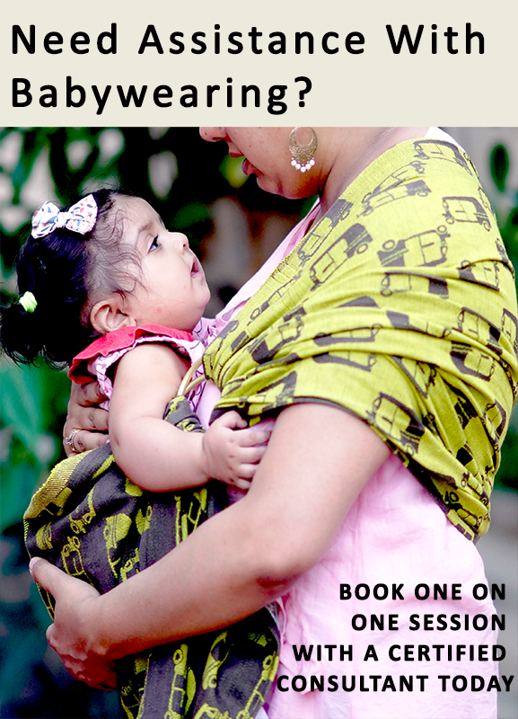 Assistance with baby wearing