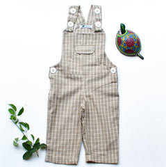 Plaid Jane Overalls