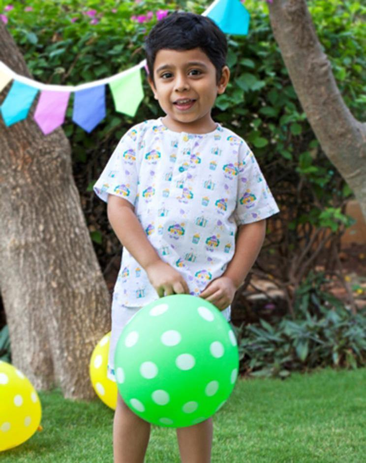 Kids Kurta Pyjama : Circus Clown