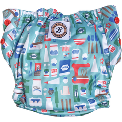 Bumpadum Aviva Organic Cotton All-in-One Diaper Masterchef Season 2