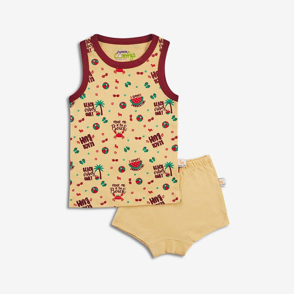 SuperBottoms  Organic Cotton Comfort Wear for Kids (Beachy Bum)