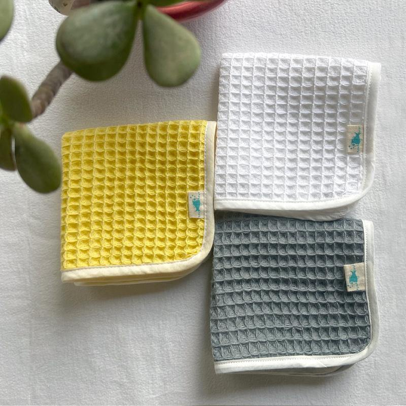 WHITEWATER KIDS ORGANIC HANDWOVEN WAFFLE WASHCLOTHS - Indie Project Store