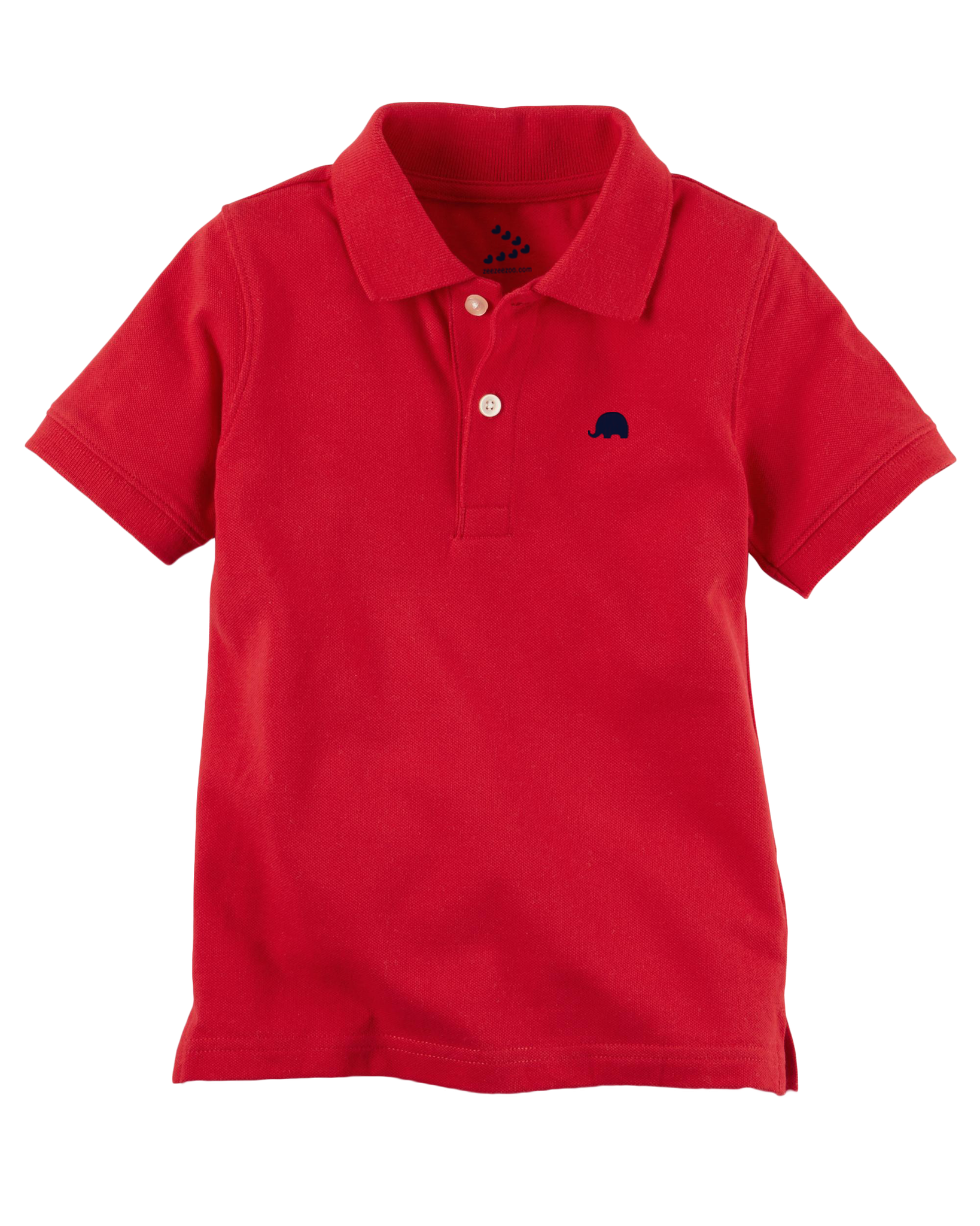 Piqué Polo Tee - Red