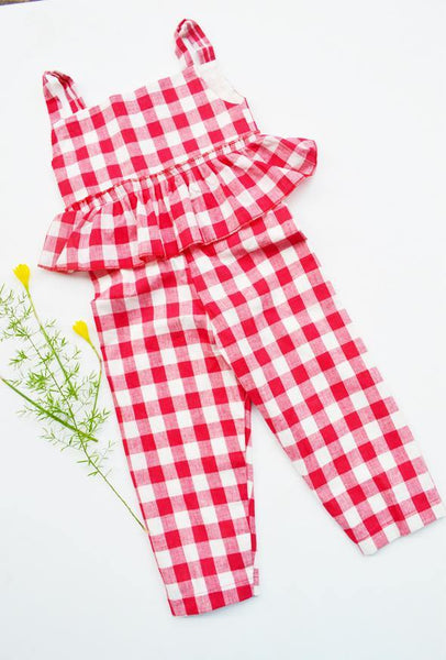 Lil' Red Riding Hood Jumpsuit