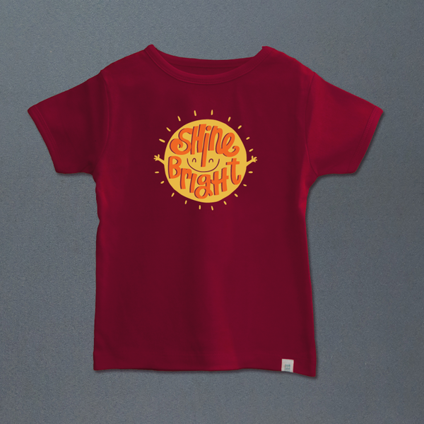 Shine Bright t-shirt - indieprojectstore