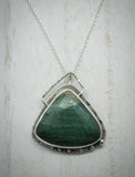 Blue Mountain Jasper Pendant