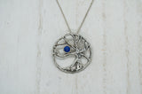 Tree of Life Pendant with Lapis