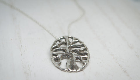 Oval Tree of Life Pendant