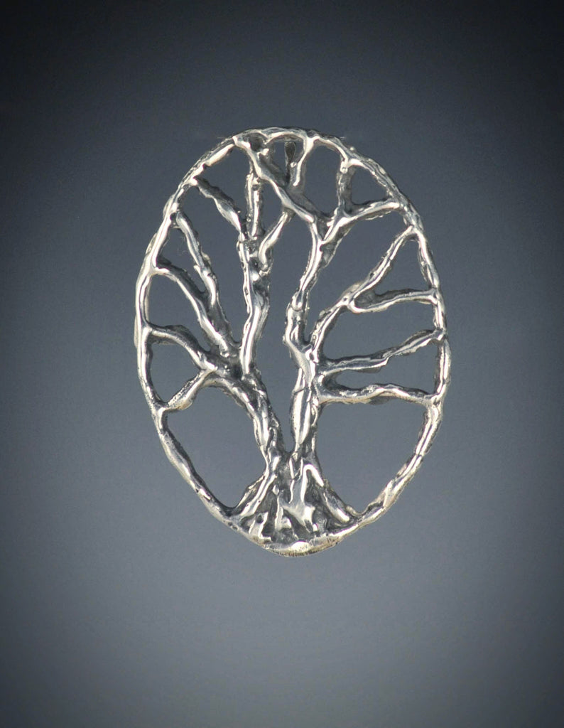 Split Tree of Life Pendant