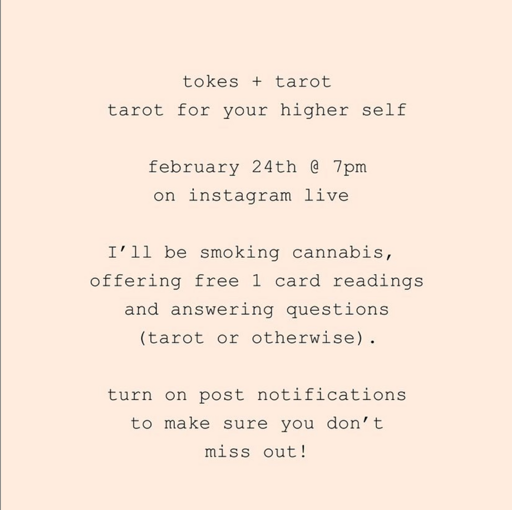 Tokes + Tarot // Tarot for Your Higher Self