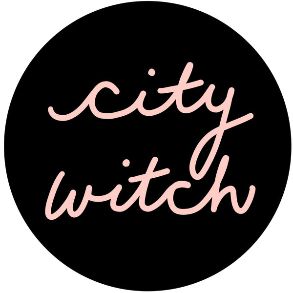 City Witch pin