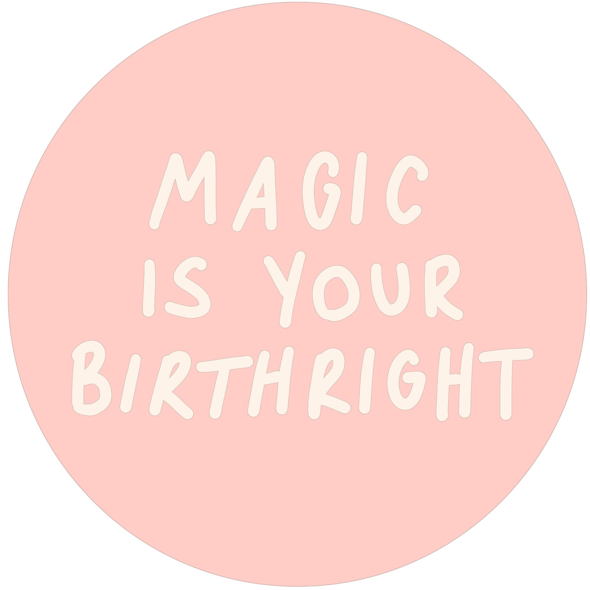 Magic is Your Birthright pin