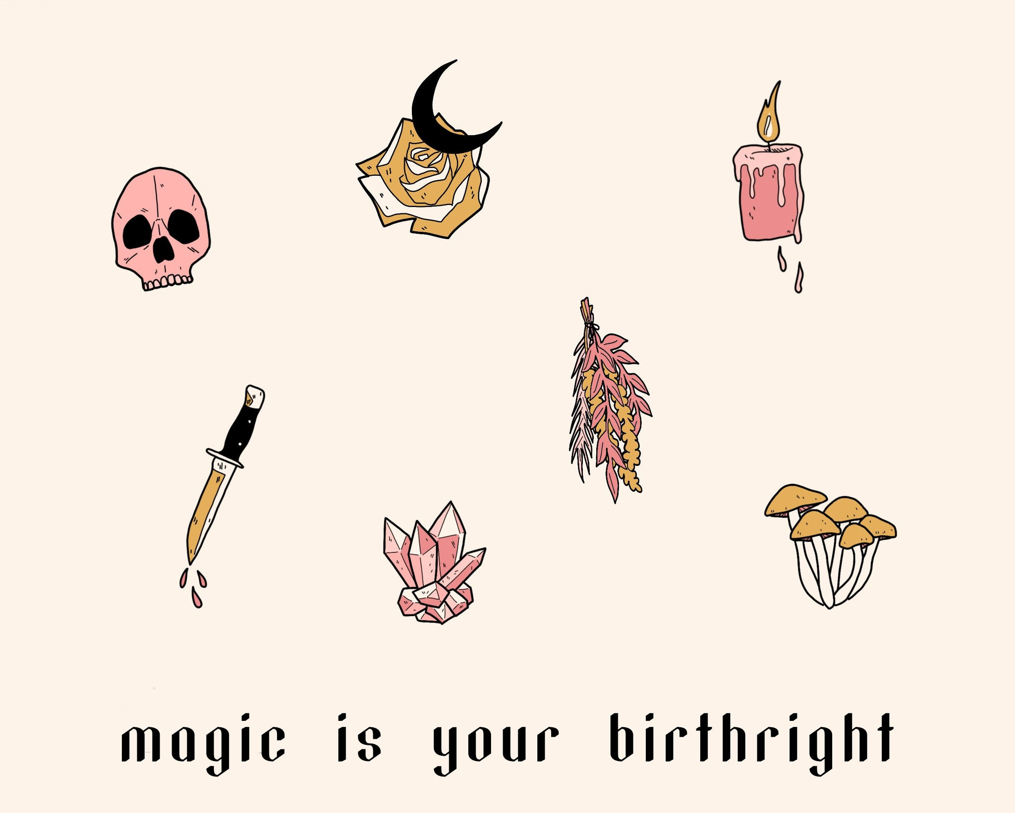Magic is Your Birthright Tote
