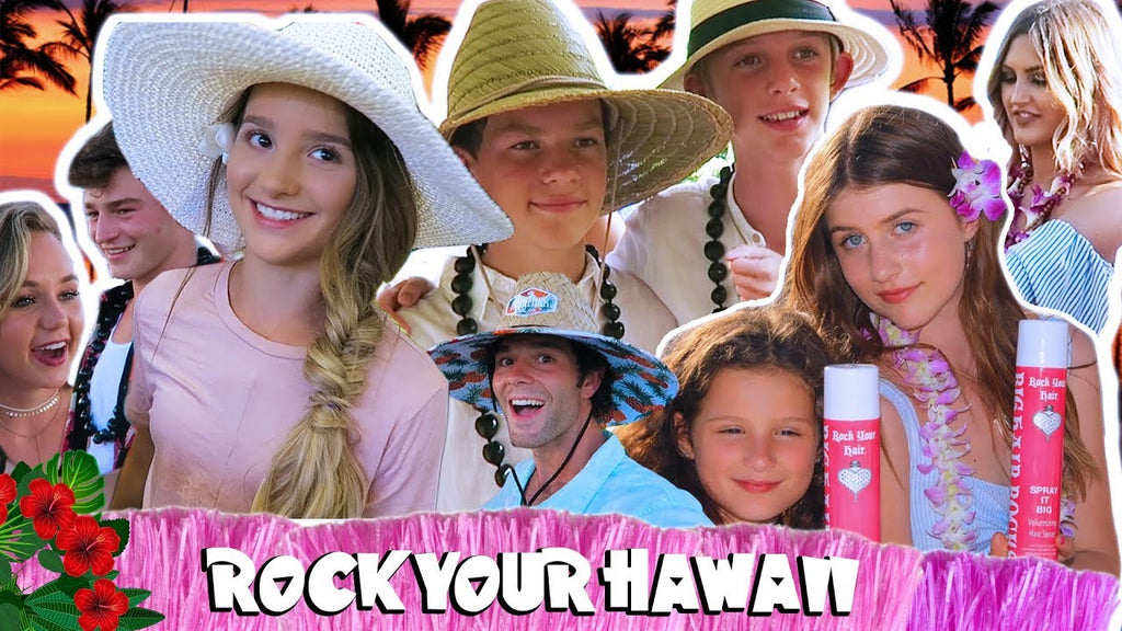 Cool Kids in Hawaii Part 2: Rock Your Hawaii Luau!