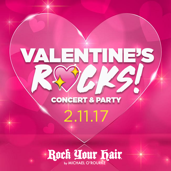 "Rock Your Hair Presents ""Valentine's Rocks"" Concert Hosted By Brooke Butler"