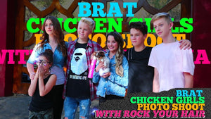 Brat Chicken Girls: Behind the Scenes Photoshoot!