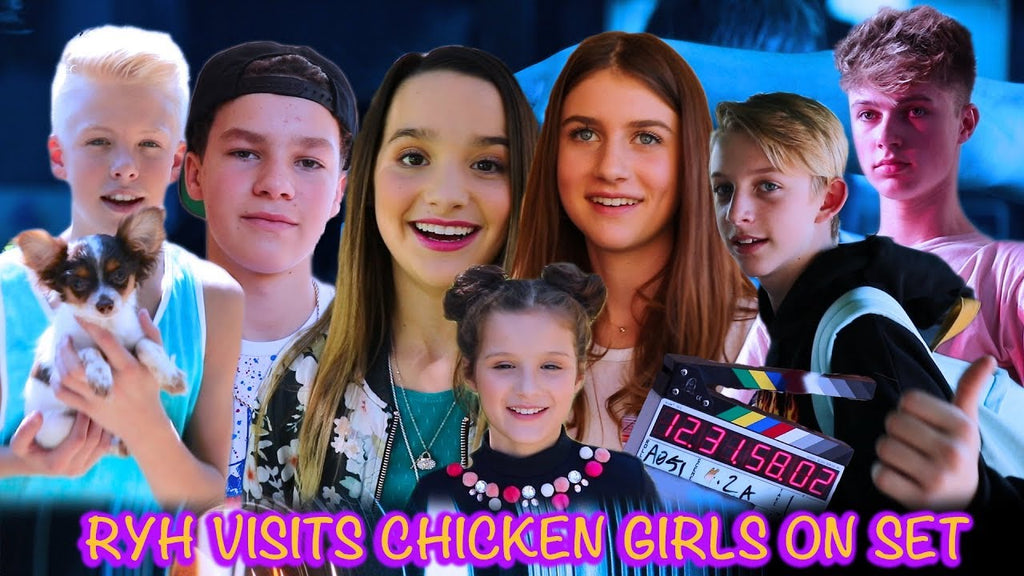 RYH Visits Chicken Girls on Set!
