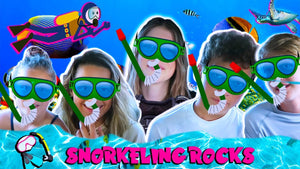 Cool Kids in Hawaii Part 3: Snorkeling Rocks